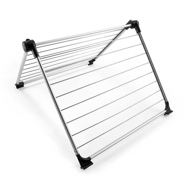 Stainless Steel Over the Tub Clothes Drying Rack