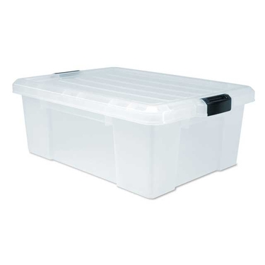 12.5 Gallon Buckle Down Box by IRIS