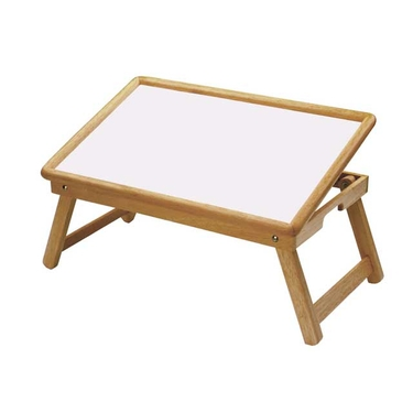 Breakfast Bed Tray with Flip Top and Foldable Legs by Winsome Wood