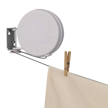 40' Retractable Clothes Line by Household Essentials