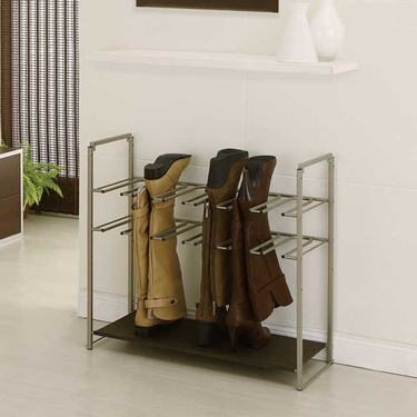 Stackable Boot Storage Rack - 6 Pair
