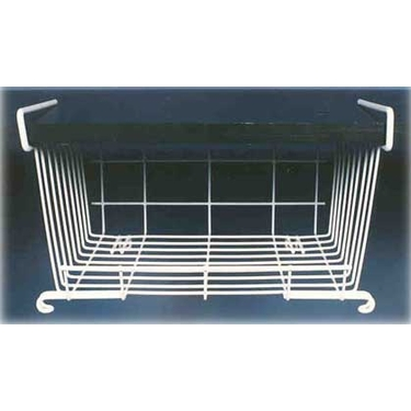 12'' Under Shelf Wire Basket Rack