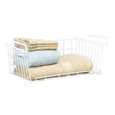 Under shelf basket large under shelf baskets storage rack for Under shelf basket wrap rack