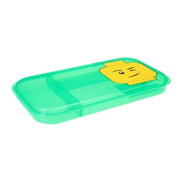 Lego Minifigure Storage Case in Green by Iris