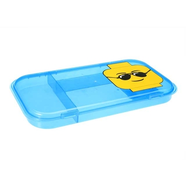 Lego Minifigure Storage Case in Blue by Iris