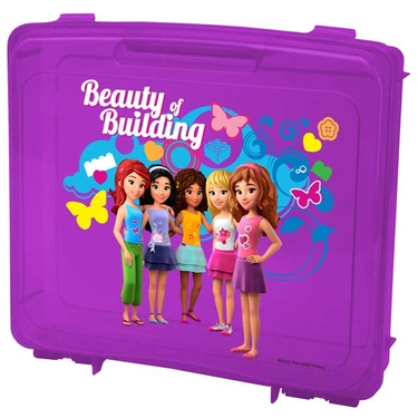 LEGO Friends Portable Project Case in Purple by Iris