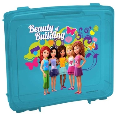 LEGO® Friends Portable Project Case in Blue by Iris