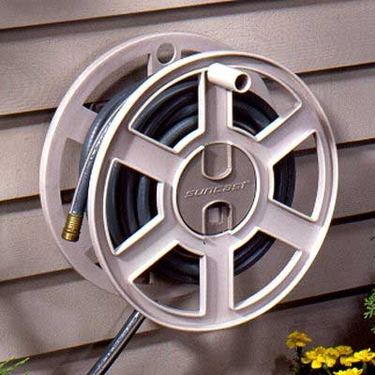 Suncast 100' Side Winder Wall Mount Hose Reel