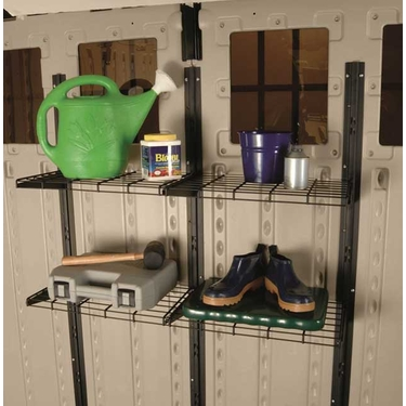 Suncast Shelf System for Blow Molded Sheds