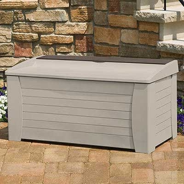Suncast Premium Deck Box with Seat - 127 Gallon