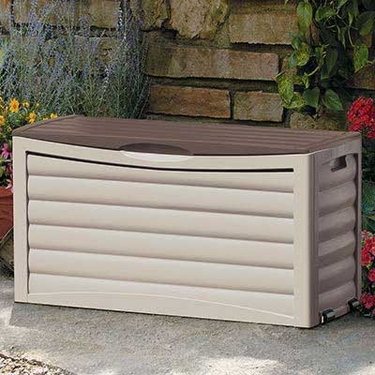 Suncast 63 Gallon Deck Box - Tan