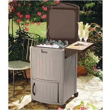 Suncast Cooler Station Patio Cooler
