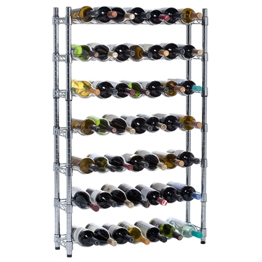 7 Row Epicurean Wine Storage System by Oenophilia