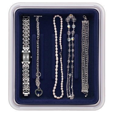 Bracelets & Watches- Midnight Blue Jewelry Organizer by Neatnix