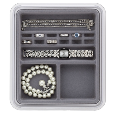 Rings & Things- Grey Organizing Tray by Neatnix
