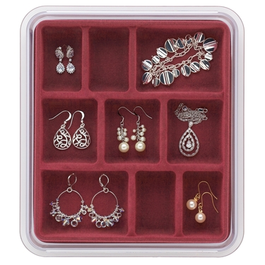 9 Compartment Rose Jewelry Stax by Neatnix