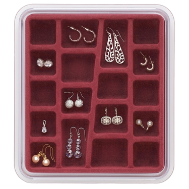 18 Compartment Rose Jewelry Stax by Neatnix