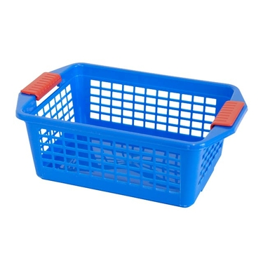 Medium Blue Flip-N-Stack Baskets by Dial