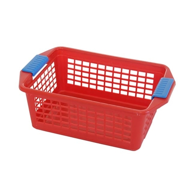 Medium Red Flip-N-Stack Baskets by Dial