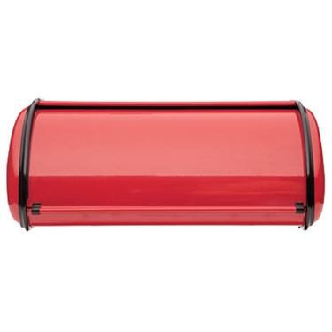 Deluxe Solid Red Bread Box by Polder