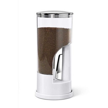 White Indispensable Coffee Dispenser by Zevro