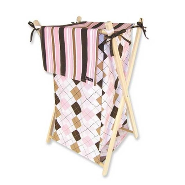Prep School Pink Hamper Set by Trend Lab