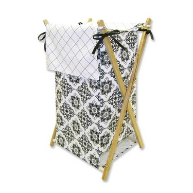 Versailles Black & White Hamper Set by Trend Lab