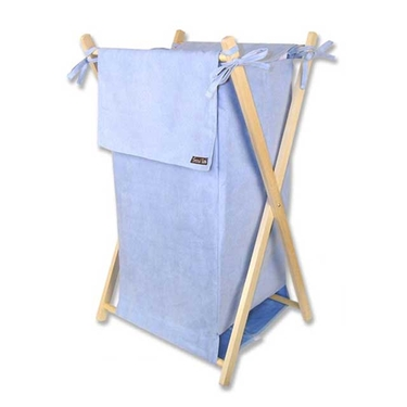 Blue Suede Hamper Set by Trend Lab
