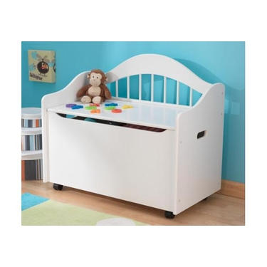 White Limited Edition Toy Box by KidKraft