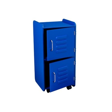 Kids Medium Blue Locker Shelf Unit by KidKraft