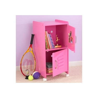 Kids Medium Bubblegum Locker Shelf Unit by KidKraft