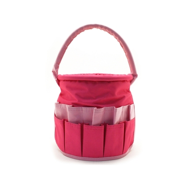 Small Hot Pink & Light Pink Stuff Bucket by Neatnix