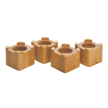 Honey Bed Risers- Set of 4 by Richards