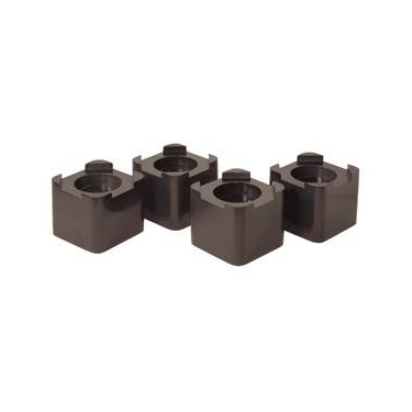 Espresso Bed Risers- Set of 4 by Richards