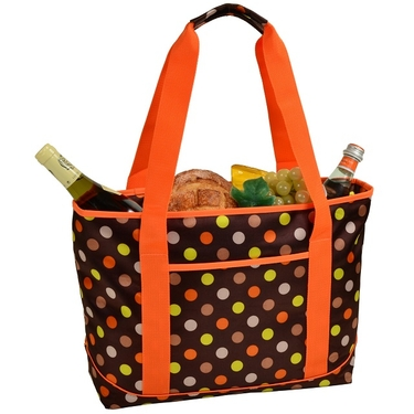 Cooler Tote- Julia Dot Collection by Picnic at Ascot
