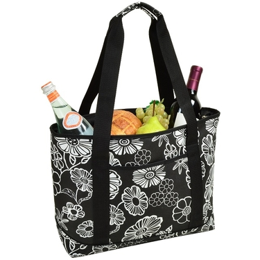 Cooler Tote- Night Bloom Collection by Picnic at Ascot