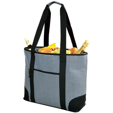 Large Cooler Tote- Houndstooth Collection  by Picnic at Ascot