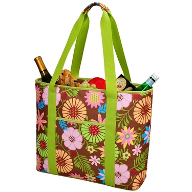 Large Cooler Tote- Floral Collection  by Picnic at Ascot