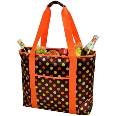 Large Cooler Tote- Julia Dot Collection  by Picnic at Ascot