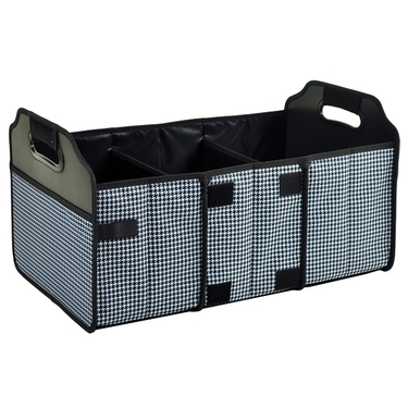 Collapsible Trunk Organizer- Houndstooth Collection by Picnic at Ascot