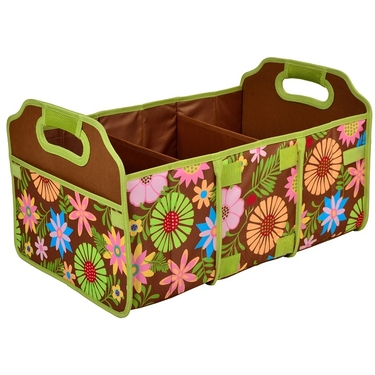 Collapsible Trunk Organizer- Floral Collection by Picnic at Ascot