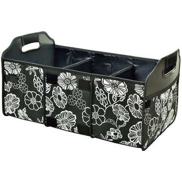 Collapsible Trunk Organizer- Night Bloom Collection by Picnic at Ascot