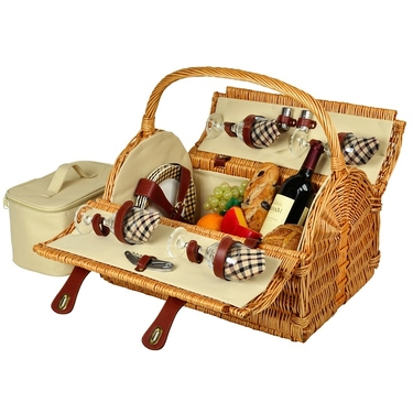 Yorkshire Picnic Basket for Four by Picnic at Ascot