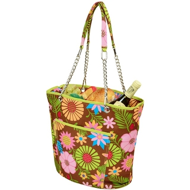 Cooler Tote- Floral Collection  by Picnic at Ascot