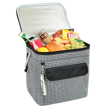 Wide Multi Purpose Cooler- Houndstooth Collection by Picnic at Ascot