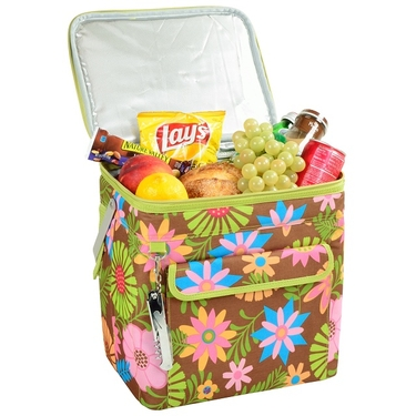 Wide Multi Purpose Cooler- Floral Collection by Picnic at Ascot