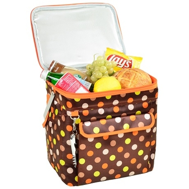 Wide Multi Purpose Cooler- Julia Dot Collection by Picnic at Ascot