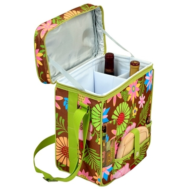 Wine & Cheese Cooler- Floral Collection by Picnic at Ascot