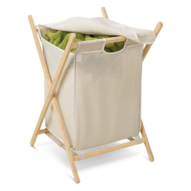 Folding Wooden Hamper by Honey-Can-Do