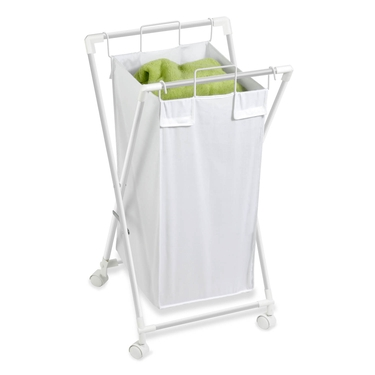 Single Folding Hamper with Removable Bag by Honey-Can-Do